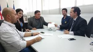 Procurador-geral recebe nova diretoria da Associação dos Auditores de Controle Externo do TCE-AM