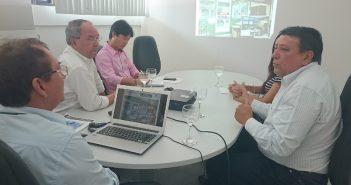 Procuradores de contas se reúnem com secretário municipal de Finanças