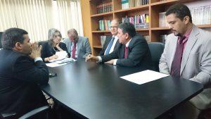 Procuradores de contas se reúnem com presidente do STF e CNJ