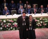 Procuradores de contas participam de solenidade de posse da nova presidente do TCE-AM, Yara Lins