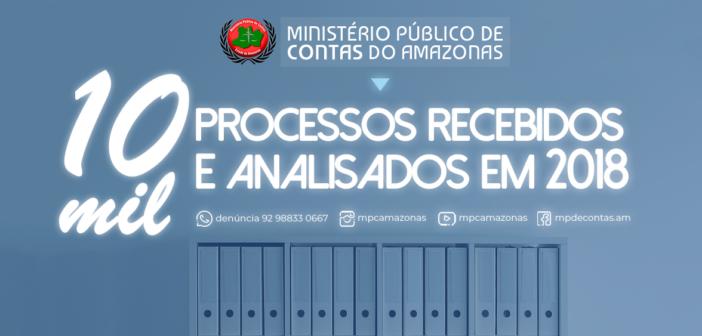 MPC recebeu e analisou mais de 10.000 processos em 2018.